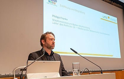 Philipp Franke beim Safer Internet Day 2020