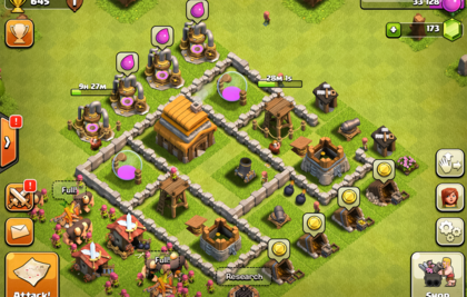 Screenshot aus Clash of Clans