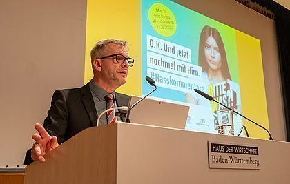 Michael Zieher beim Safer Internet Day 2020