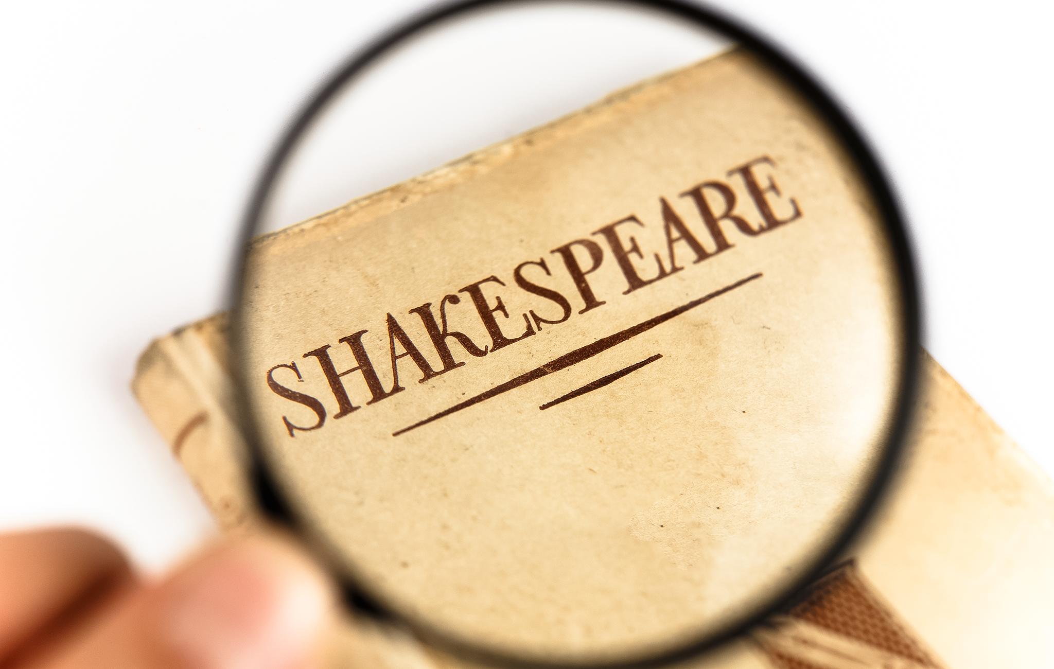 William Shakespeare - Medienliste